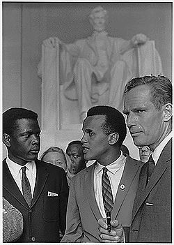 250px-Poitier_Belafonte_Heston_Civil_Rights_March_1963