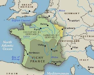 Davidmixner live from hells kitchen when france surrendered to adolph hitler in world war ii the treaty created a france partially occupied by germany and a vichy france which was to be gumiabroncs Images