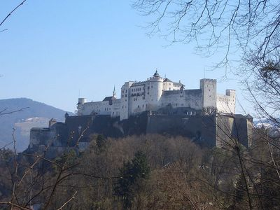 Hohensalzburg Castle located in the Austrian city of Salzburg is one of the ...