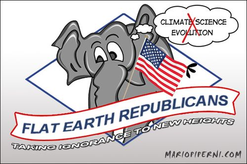 Republicans-Flat_Earth