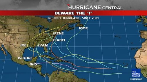 weather channel hurricane isaac