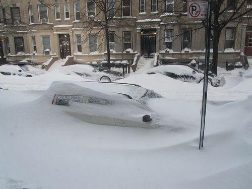 Blizzard car