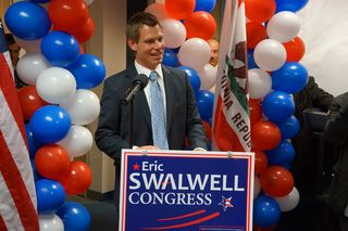 Eric-swalwell-speaks-to-supporters-on-election-night-2012