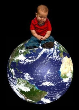 3292089-a-young-baby-boy-worried-about-our-blue-planet-called-earth-and-it-s-future-sitting-on-our-globe-iso