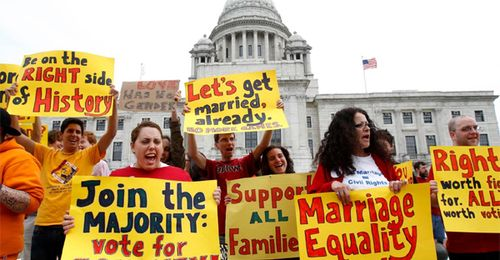 Rhode-island-GAY-marriage-supporters