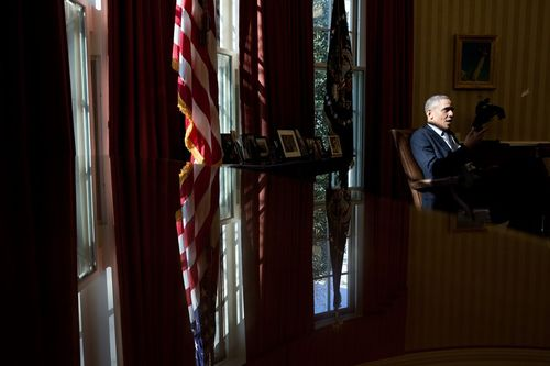 President-barack-obama-talks-with-chief-of-staff-denis-mcdonough-and-senior-advisor-dan-pfeiffer-in-the-oval-office