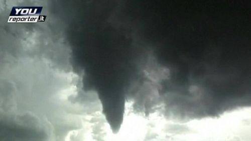 Italy-Milan-Tornado-Hits-12-Injured