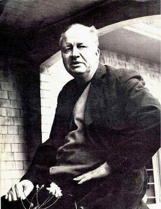 Roethkeb-15c35b-5c20_small-Theodore Roethke, on the porch of his home in Seattle's Washington Park