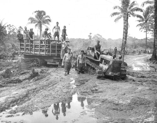 Surrounded-by-a-sea-of-mud-marines-stationed-in-the-south-pacific-island-of-bougainville-haul-ammunition-to-the-front-line