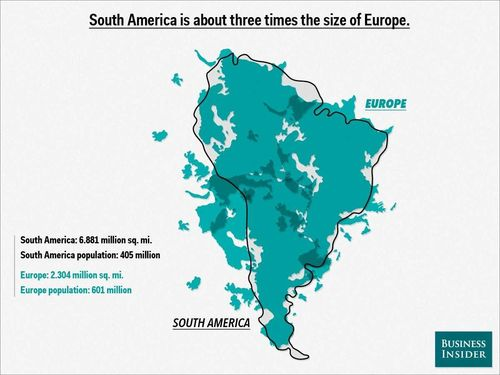 Europe-into-south-america-map