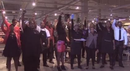 Woolworth-mandela-flashmob