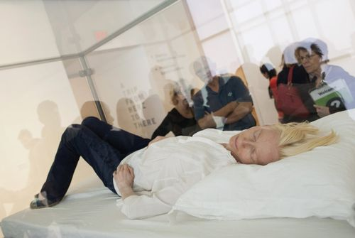 April-17-tilda-swinton-surprised-museum-goers-when-she-slept-in-a-glass-box-at-the-moma-in-new-york-city