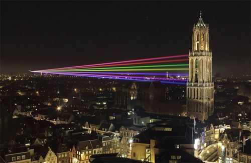Laser-show-in-utrecht-holland